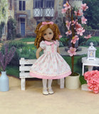 Girl Next Door - dress, tights & shoes for Little Darling Doll or 33cm BJD