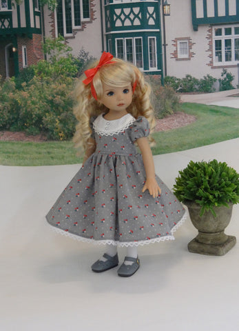 Grandma's Favorite - dress, tights & shoes for Little Darling Doll