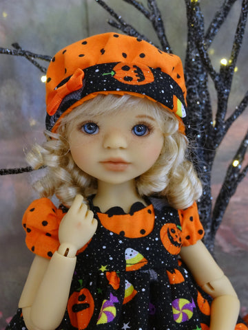 Halloween Night - jumper, romper, hat, socks & shoes for Little Darling Doll