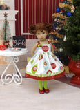 Hanging Ornaments - dress, tights & shoes for Little Darling Doll or 33cm BJD