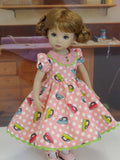Ironing Day - dress, socks & shoes for Little Darling Doll