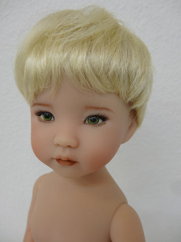 Johnny Wig in Pale Blonde - for Little Darling dolls