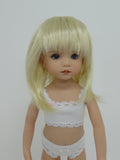Kara Lynn Wig in Pale Blonde - for Little Darling dolls
