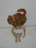 Kitty Wig in Light Strawberry Blonde - for Little Darling dolls