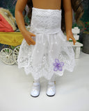 Lavender Mist - dress & shoes for Little Darling Doll