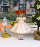 Little Ducklings - dress, socks & shoes for Little Darling Doll or other 33cm BJD