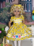 Little Lamb - dress, tights & shoes for Little Darling Doll