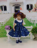 Looking Pretty - dress, tights & shoes for Little Darling Doll