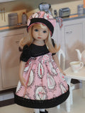 Love Potion - dress, hat, tights & shoes for Little Darling Doll