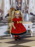 Love's Serenade - dress, tights & shoes for Little Darling Doll