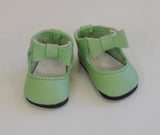 Bow Ankle Strap Shoes for Little Darling Dolls
