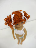 Lulu Wig in Carrot Red - for Little Darling dolls