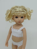 Lulu Wig in Light Peach Blonde - for Little Darling dolls