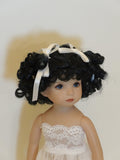 Lulu Wig in Off Black - for Little Darling dolls