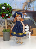 "Saylor - custom 13"" Mini Pal doll w/ wardrobe"