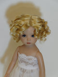 Marianne wig in Golden Strawberry Blonde - for Little Darling dolls