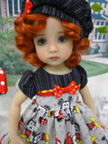 Meet Mickey & Minnie - dress, hat, socks & shoes for Little Darling Doll or 33cm BJD