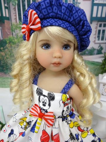 Mickey's Clubhouse - dress, hat, socks & shoes for Little Darling Doll or 33cm BJD