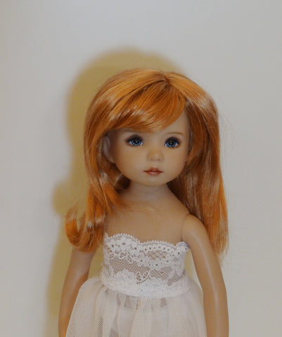 Mika Wig in Reddish Blonde - for Little Darling dolls