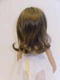 Mika Wig in Two Tone Brown - for Little Darling dolls