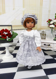 Mini Musician - dress, hat, tights & shoes for Little Darling Doll or 33cm BJD