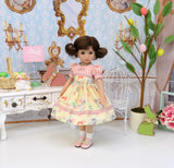 Miss Cottontail - dress, socks & shoes for Little Darling Doll or 33cm BJD