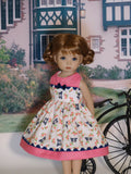Morning Bluebird - dress & shoes for Little Darling Doll