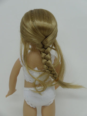 Navajo Wig in Blonde - for Little Darling dolls