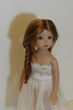 Nelly wig in Golden Auburn & Golden Strawberry Blonde - for Little Darling dolls