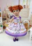 Never Neverland - dress, tights & shoes for Little Darling Doll or 33cm BJD