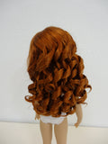 Paige Wig in Double Red - for Little Darling dolls
