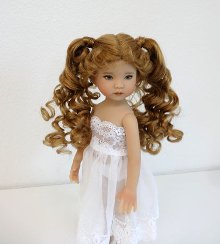 Patty Wig in Light Strawberry Blonde - for Little Darling dolls