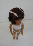 Penny Wig in Brown Black - for Little Darling dolls