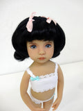 Penny Wig in Off Black - for Little Darling dolls