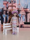 Peter Pan - romper, hat & sandals for Little Darling Doll