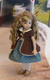 Picture Day - dress, jacket, tights & shoes for Little Darling Doll or 33cm BJD