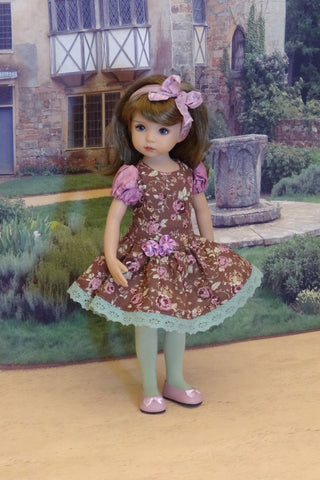 Picture Perfect - dress, tights & shoes for Little Darling Doll or 33cm BJD