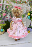 Pink Bunny - dress, tights & shoes for Little Darling Doll or 33cm BJD