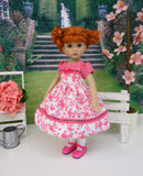 Pink Piggy - dress, socks & shoes for Little Darling Doll or 33cm BJD
