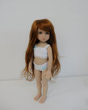 Pixie Wig in Golden Auburn - for Little Darling dolls