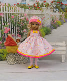 Pretty Unicorn - dress, hat, tights & shoes for Little Darling Doll or other 33cm BJD
