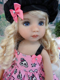 Punk Princess - dress, hat, socks & shoes for Little Darling Doll or 33cm BJD