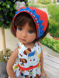 Puppy Dog Pals - romper, kerchief, socks & shoes for Little Darling Doll or 33cm BJD
