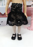 Radiant Rhinestones - dress, slip, tights & shoes for Little Darling Doll or 33cm BJD