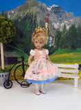 Romantic Road - dirndl ensemble with tights & shoes for Little Darling Doll or 33cm BJD