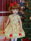 Rudolph & Clarice - dress, tights & shoes for Little Darling Doll or 33cm BJD