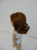 Sally Wig in Auburn - for Little Darling dolls