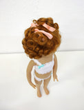 Sammy Wig in Light Ginger - for Little Darling dolls