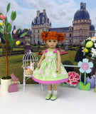 Some Bunny Special - dress, socks & shoes for Little Darling Doll or 33cm BJD