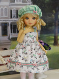 Song Birds - dress, hat, tights & shoes for Little Darling Doll